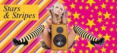 Liquid Heels Pimp your heels - stars and stripes.    Verkrijgbaar op Www.LiquidHeels.nl