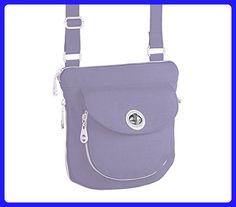 Baggallini Amsterdam Crossbody (Lavender) - Crossbody bags (*Amazon Partner-Link)