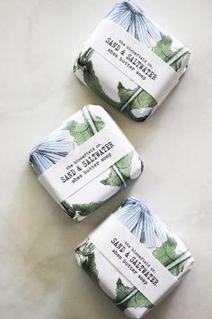 Saltwater soap