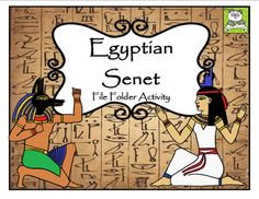 This Egyptian Senet File Folder Activity is a great addition to any Ancient Egypt Unit. Students will enjoy playing the same game that ancient pharaohs played thousands of years ago in Egypt. The game is bright, colorful, and easy to play. It can be used for centers, enrichment, or small groups.