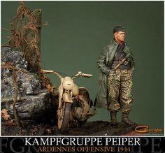 Kampfgruppe Peiper - The Ardennes Offensive, December 1944
