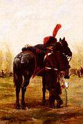 """New artwork for sale! - """" Le Jean Baptiste Edouard Le Dragon D Espagne by Jean Baptiste Edouard Detaille """" - http://ift.tt/2oXLMAo"""