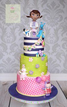 Doc Mcstuffins Character Cake Pan