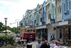 New Regent Street, Christchurch, New Zealand - http://www.worldwidewriter.co.uk/2014/04/christchurch-after-earthquake.html