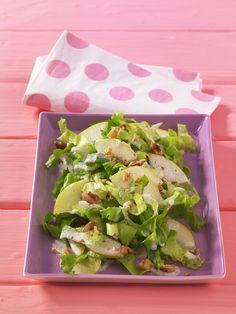 Endivien-Birnen-Salat | Dieser Salat eignet sich bestens für stillende Mütter, weil er vollwertig und magenfreundlich ist.