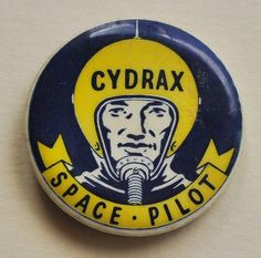 Cydrax Space Pilot childrens drink rare pop