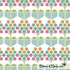 Geo Orchard, by Dawn Clarkson http://niceandfancy.blogspot.it