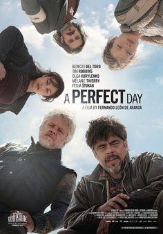 A Perfect Day (2015) with Tim Robbins and Benicio Del Toro #drama #movie #films2015