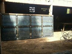 Steel Gate Design, House Gate Design, Metal Panels, Fencing, Home Decor, Gate Design, Pallet Lounge, Projects, Fences