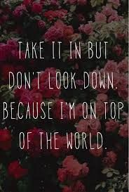 on top of the world imagine dragons