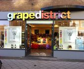GrapeDistrict - cool, simplified wine store in Amsterdam for a non-intimidating experience