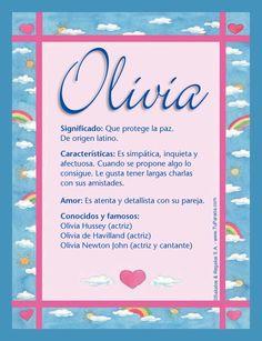 Olivia, imagen de Olivia