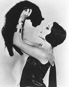 Dolores Del Rio 1930's. Lucky Moggy.....
