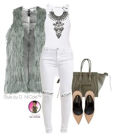 """Untitled #2871"" by stylebydnicole on Polyvore featuring Helmut Lang, FiveUnits, Yves Saint Laurent and DYLANLEX"