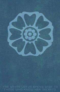 Order of the White lotus. Minimalist