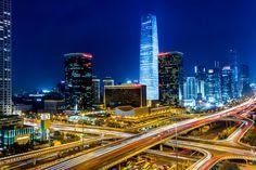 Photograph Beijing CBD by Zeng qiang Lee on 500px