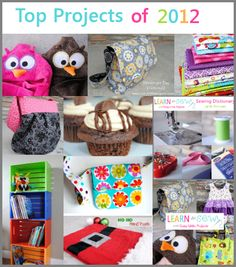 Top 10 DIY and Sewing Projects of 2012