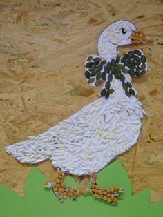 márton napi kézműves ötletek - Google keresés Farm Animal Crafts, Animal Crafts For Kids, Toddler Crafts, Animals For Kids, Fall Crafts, Easter Crafts, Diy And Crafts, Arts And Crafts, Autumn Art