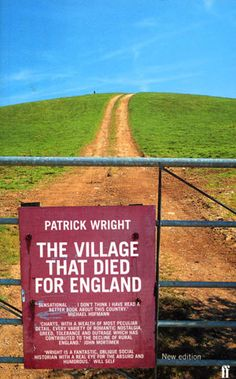 The Village that Died for England, a Dorset hamlet in a beautiful coastal valley evacuated to make a training area for allied tanks during WW2. and never returned to it's inhabitants despite Churchill's pledge of restitution. There are over 3.000 lost villages in the UK and all for diverse reasons