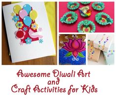 Find out the best of Diwali art and craft activities for kids. Keep your children busy on festivals with these interesting and innovative fun things to do.