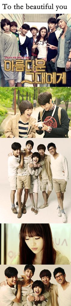 To The Beautiful You (kdrama 2012) - 16 episodes - Choi Minho / Choi Sulli / Lee Hyun-woo by Luciane Miyuki Sakakima