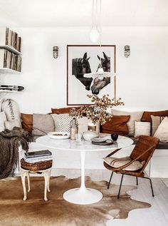 Kara Rosenlund House eclectic-dining-room