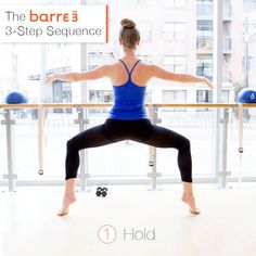 barre3 3-step sequence via barre3 blog
