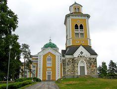 Kerimäen kirkko Malta, Monaco, Georgia, France, Place Of Worship, Cathedrals, Historian, Mosque, Temple