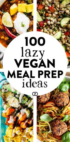 100 + Vegan meal prep ideas: these make-ahead vegan recipes will help you with plant-based meals for breakfast, lunch, dinner, dessert, and snack! recipes meals Vegan Meal Prep Ideas That Everyone Will Love Vegetarian Meal Prep, Vegan Meal Plans, Vegan Vegetarian, Vegetarian Recipes, Meal Prep For Vegetarians, Cheap Vegan Meal Plan, Vegan Weekly Meal Plan, Vegan Lunch Healthy, Vegan Recipes Plant Based