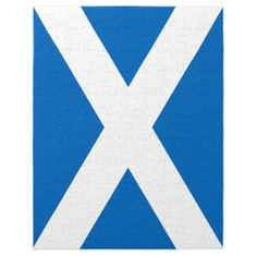 Scotland Flag Puzzle!  #new #flag #zazzle #store #gift #shop #customize #home #apparel #office http://www.zazzle.com/flagsbydww25921*