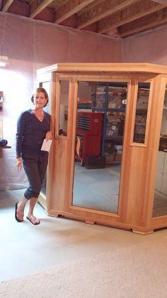 @goodhealthsauna GS-Series 3-Person Corner Hemlock Infrared Sauna