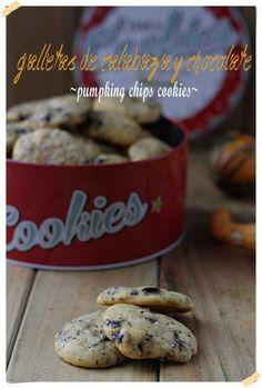 Galletas de calabaza y chocolate, sin materia grasa | El blog sin azúcar