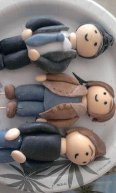 supernatural crafts | supernatural cake figures by simon sez artisan crafts culinary arts ...@Gwyn Ash