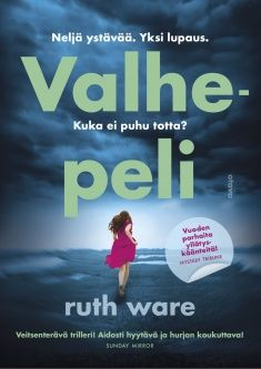 Ruth Ware: Valhepeli Ruth Ware, My Books, Reading, Movie Posters, Movies, 2016 Movies, Film Poster, Films, Word Reading