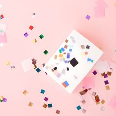STYLE: astral inspired by the late Japanese designer Shiro Kuramata, this soap by wary meyers is a true work of art and a countertop necessity. the little confetti pieces are scraps of leftover soap..