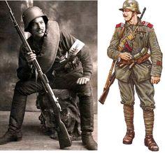 Freikorps, Baltic Volunteers