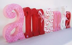 Sweet 16 Birthday Centerpiece by thepatternbag on Etsy, $95.94