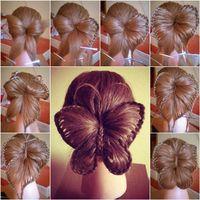 Cómo DIY mariposa Braid Peinado
