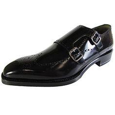 Signature Donald J. Pliner Mens Cmonk-51 Monk-Strap Shoe, Black, US 12 - http://all-shoes-online.com/signature-donald-j-pliner/signature-donald-j-pliner-mens-cmonk-51-monk-strap-2