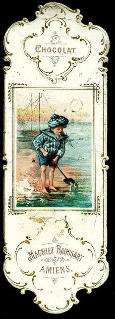 Baussart Chocolat - Bookmark c1890's | Flickr: Intercambio de fotos