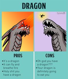 The pros & cons of owning fictional pets