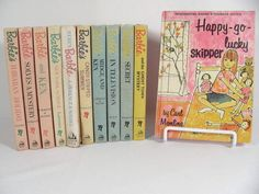 LOT 11 VTG 1960s BARBIE DOLL BOOKS - RANDOM HOUSE  SECRET TELEVISION  NY SUMMER