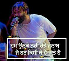 Punjabi Attitude Quotes, Punjabi Love Quotes, Attitude Quotes For Boys, Cute Quotes For Life, Positive Attitude Quotes, Epic Quotes, Good Thoughts Quotes, Girly Quotes, True Quotes