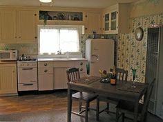 1940s vintage kitchen