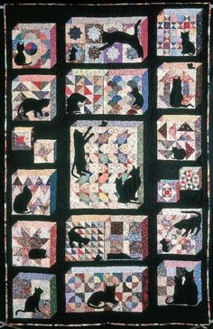 Quilt Inspiration: Free Pattern Day: Attic Windows Quilts 02/13/15  JS