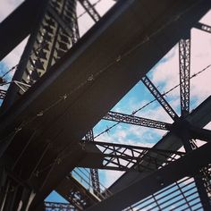 Walked across the Sydney Harbour Bridge today and got all arty with my photography ha ha.  #sydney #sydneyharbourbridge #sydneyharbour #photography #geometric #industrialdesign #bridge #bluesky #saturdaybliss #art #walks #explore #adventure #sunshine #bridgewalk #architecture #modern #brutalist #brutalistarchitecture by generationdweeb http://ift.tt/1NRMbNv