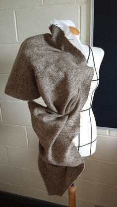 Draping on the Stand - jacket design & structure development - fabric manipulation; fashion design; couture techniques