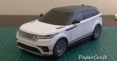 How to build Range Rover Velar Model with Paper Craft Carros Suv, Land Rover Car, Paper Car, Cool Sports Cars, Cardboard Art, 3d Paper Crafts, Origami Art, Paper Folding, Paper Models