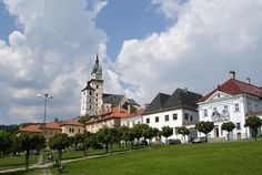 Kremnica in Central Slovakia.  This really is a delightful little town with plenty to do, lots of little museums, an interesting church on the hill, a Plague column and of course the Mint.  Well worth a visit!