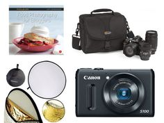 Whether you know someone who wants to get into food photography or you want to help someone upgrade their equipment, we've got plenty of recommendations including point-and-shoot cameras, DSLRs, lighting equipment, books, and more.